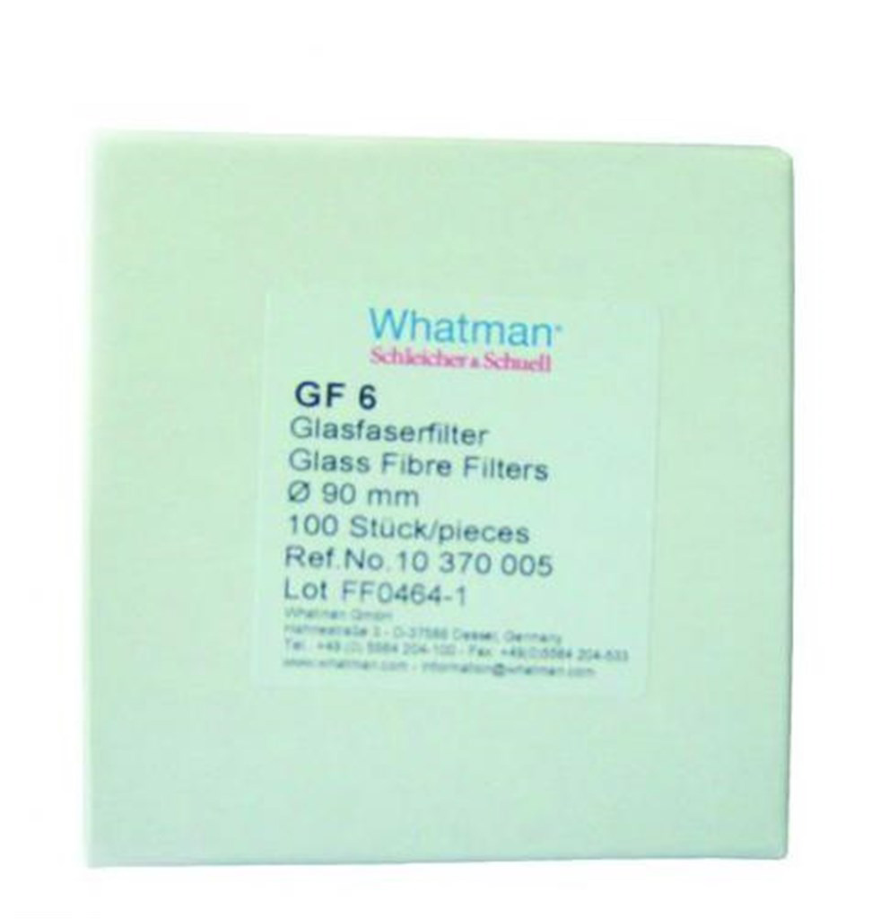 Filter paper, round, pack of 100, GF 6, Ø200 mm