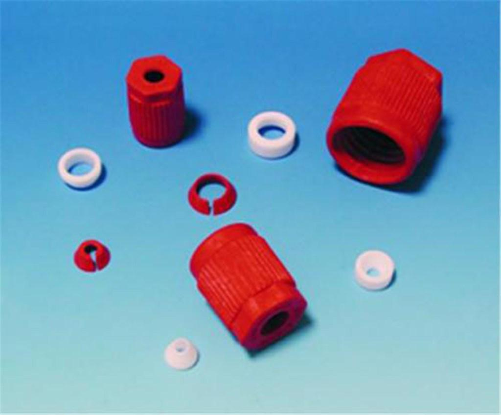 Fittings GL25, PTFE/HOSTA, 10,0 mm