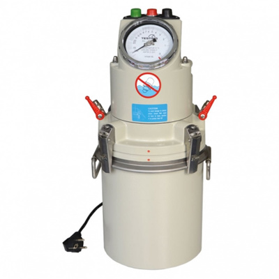 Press-ur meter 8 liter, elektrisk pump, Testing